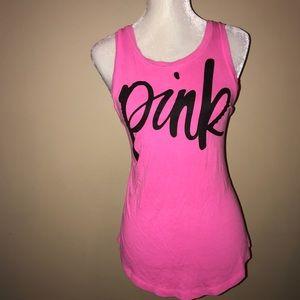 VS PINK Barbie Pink Tank Top
